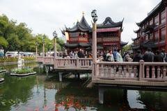 Yuyuan Garden in Shanghai Stock Photo