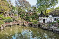 Yuyuan garden shanghai china Stock Images