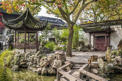 Yuyuan garden shanghai china Royalty Free Stock Images