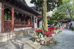 Yuyuan garden shanghai china Royalty Free Stock Photo