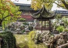 Yuyuan garden shanghai china Royalty Free Stock Images