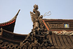 The Yuyuan Garden. Shanghai. China Royalty Free Stock Photos