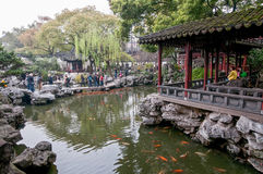 YuYuan Garden Stock Photography