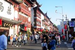 Yuyuan Garden Shanghai Old Street China Stock Image