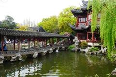 Yuyuan Garden in Shanghai Royalty Free Stock Photos