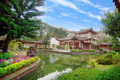 Yuyuan Garden style in Thailand Royalty Free Stock Photo