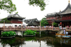 Yuyuan Garden Tourist Area Stock Photos