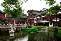 Yuyuan Garden Tourist Area Royalty Free Stock Photo