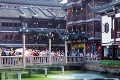 Yuyuan Gardens Shanghai Royalty Free Stock Photos