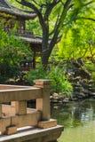Yuyuan ogródu ogród szczęście w centrum Szanghaj Chiny zdjęcia royalty free