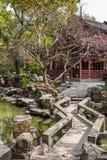 Yuyuan ogródu Shanghai porcelana zdjęcie stock