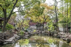 Yuyuan ogródu Shanghai porcelana fotografia royalty free