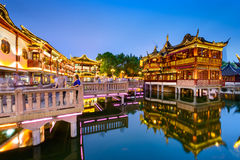 Yuyuan ogródy Szanghaj fotografia stock