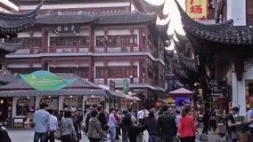 Yuyuan Shangchang historical architetrical stock video
