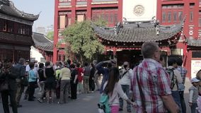 Yuyuan Shangchang historisches architetrical stock video