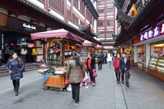 Yuyuan Tourist Mart in Shanghai, China Royalty Free Stock Photo