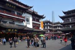 Yuyuan Tourist Mart in Shanghai China Stock Photos