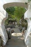 Yuyuan trädgård royaltyfri bild