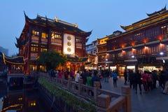Yuyuan Turystyczna hala targowa w Szanghaj Chiny Fotografia Stock