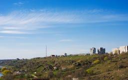 Yuzhnoukrainsk - miasteczko dla tourizm Zdjęcie Royalty Free