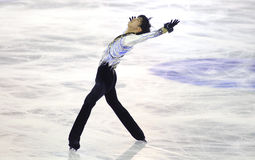 Yuzuru Hanyu of Japan Royalty Free Stock Photos