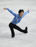 Yuzuru HANYU (JPN) royalty-vrije stock afbeeldingen