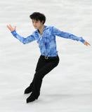 Yuzuru HANYU (JPN) Fotografia de Stock Royalty Free