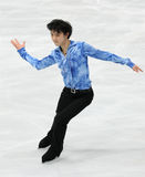 Yuzuru HANYU (JPN) Royalty Free Stock Photography