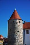 Yverdon castle Stock Photography