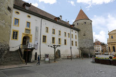 Free Yverdon`s Castle And Its Massive Tower Stock Image - 95331141