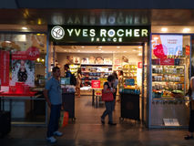 Yves Rocher brand store in Rome Royalty Free Stock Photography