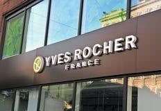 Yves Rocher Francja firma zdjęcie stock