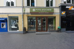 Yves Rocher Royalty Free Stock Images