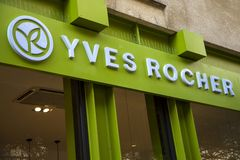 Yves Rocher store Stock Image