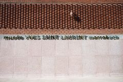 Yves Saint Laurent Museum Royalty Free Stock Photos