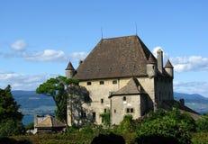 yvoire замока Стоковые Фото