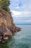 Yvoire del lago en Francia imagen de archivo