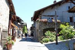 Yvoire, Frankrijk stock fotografie