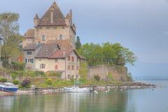 Yvoire Schloss Lizenzfreies Stockbild