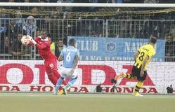 Yvon Mvogo Young Boys Berne v FC Naples Liga Europa Royalty Free Stock Photo