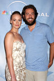 Yvonne Strahovski, Zach Levi Stock Photography