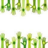 Żywa zieleń ilustracja wektor