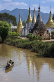 Ywama Paya - Inle Lake - Myanmar (Burma) Royalty Free Stock Images
