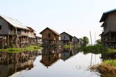 Ywama Village, Inle Lake Stock Photo