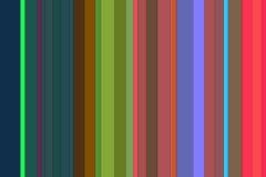Żywe kolorowe linie, tło Zdjęcie Stock