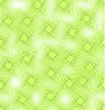 Żywej zieleni tła bezszwowa płytka z mieszanka kwadrata wystrojem i świetnym przezroczystość skutkiem Obraz Stock