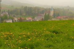 Żywiec Beskid - mountain range in Poland with preserved nature a Royalty Free Stock Photos