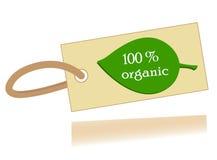 Żywności organicznej gwarancja fotografia royalty free