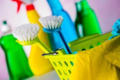 Żywy cleaning pojęcie Fotografia Royalty Free