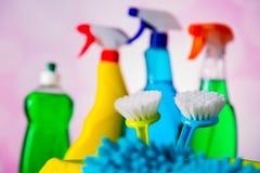 Żywy cleaning pojęcie Fotografia Stock